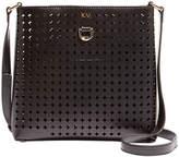 Karen Millen Perforated Cross Body Bag, Black