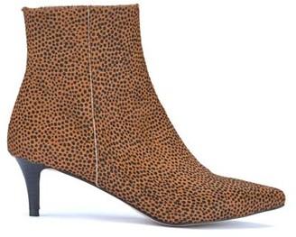 Mint Velvet Jodie Spot Kitten Heel Boots