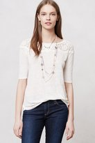 Anthropologie Scalloped Lace Blouse