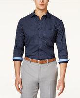 Tasso Elba Men's Pattern Long-Sleeve Shirt, Only at Macy's