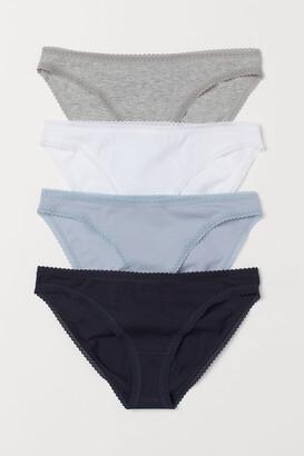 H&M 4-pack Cotton Bikini Briefs