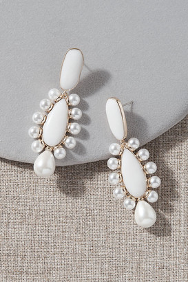 Anthropologie Nicola Bathie Annabel Earrings By in Gold