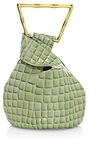 Cult Gaia Women's Mini Astraea Croc-Embossed Leather Tote