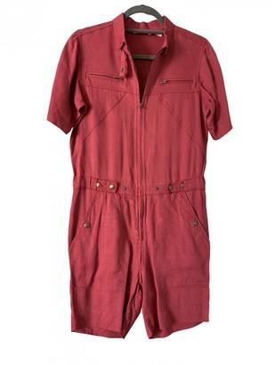 Etoile Isabel Marant Pink Linen Jumpsuits