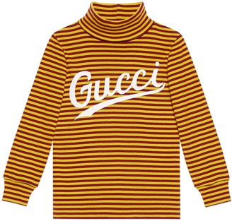 Gucci Children's print cotton turtleneck