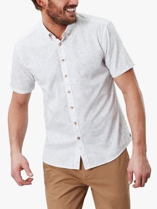 Joules Lloyd Short Sleeve Shirt, Large Ditsy