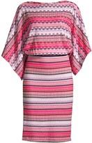 Trina Turk Toriah Zigzag Knit Dress