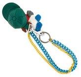 Dolce & Gabbana Leather Cap Keychain