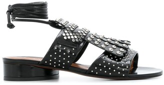 Clergerie Studded Open Toe Sandals