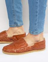 Toms Leather Huaraches Sandals
