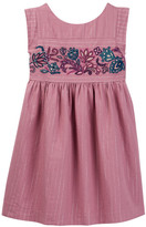 Tea Collection La Ventana Embroidered Dress (Toddler, Little Girls, & Big Girls)