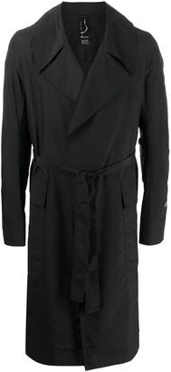 Rick Owens X Champion x Champion tie waist trench coat
