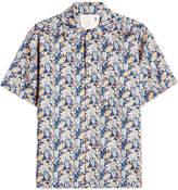 R 13 Printed Cotton Shirt