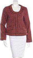 Thakoon Wool Pleat-Trimmed Jacket