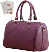 Donalworld Woen Retro Toteessenger Bag Purse PULeather Shoulder Bag