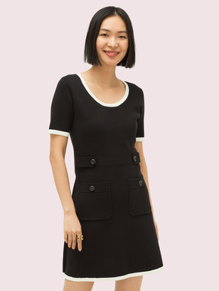 Kate Spade Patch Pocket Sweater Dress