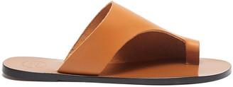 ATP ATELIER 'Rosa' cutout leather slide sandals