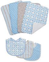 Trend Lab Lauren Lily Logan 7-pc. Bib & Burp Cloth Set