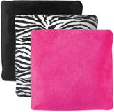Conair Plush Sound Therapy Pillow in Zebra Print