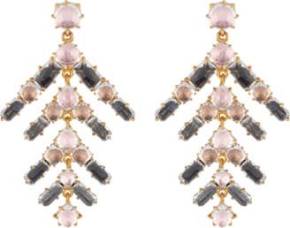 Larkspur & Hawk Caterina Branch Chandelier Earrings