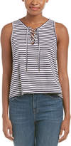 Ocean Drive Lace-Up Tank