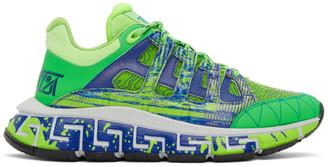 Versace Green Trigreca Sneakers