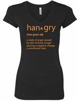 VRW hangry Womens V-Neck T-shirt
