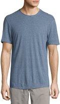 John Varvatos Striped Crewneck T-Shirt, Medium Blue