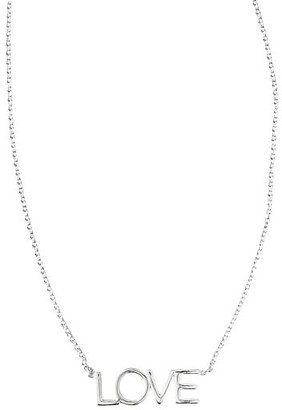 "Maya Brenner Pendant Necklace, ""Love"""