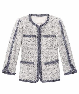 Rebecca Taylor Women's Speckled Tweed Jacket