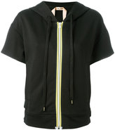 No.21 zip up hoodie - women - Cotton - 40