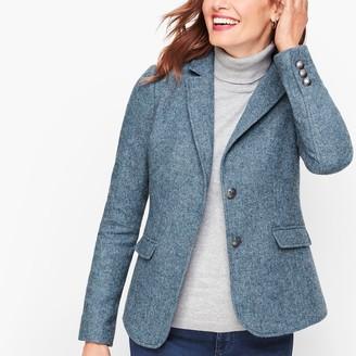 Talbots Shetland Wool Blazer - Heathered