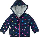 Carter's Midweight Hearts Puffer Jacket - Girls-Toddler