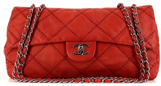 Chanel Pre Owned Jumbo Timeless diamond quilted shoulder bag