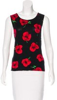Moschino Cheap & Chic Moschino Cheap and Chic Floral Knit Top