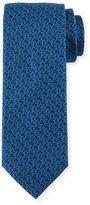 Brioni Neat Multicolored Dot-Print Tie