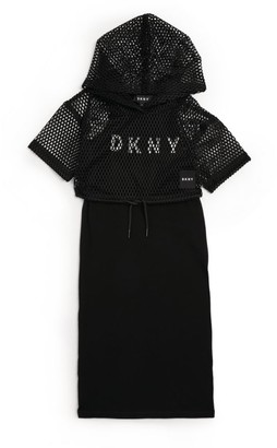 DKNY Two-in-One Dress (6-16 Years)