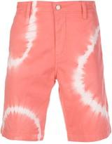 Levi's tie-dye chino shorts