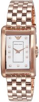 Emporio Armani Women's AR1906 Classic Rose -Tone Stainless Steel Watch