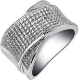 Lafonn Simulated Diamond Micro Pave Bypass Band