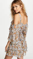 Zimmermann Painted Heart Ra Ra Mini Dress