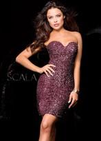 Scala 48513 Dress In Wine