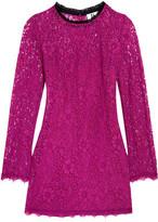 Topshop Tybalt Corded Lace Mini Dress