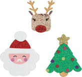 Accessorize 3x Christmas Brooches