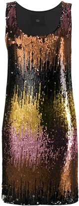 Steffen Schraut Sequin Embellished Shift Dress