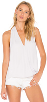 Krisa Surplice Tank in Lavender. - size M (also in XS)