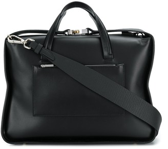 Alyx boxy leather tote