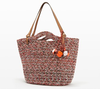 Vince Camuto Braided Rope Tote - Zane