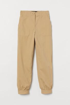 H&M Pima cotton utility trousers