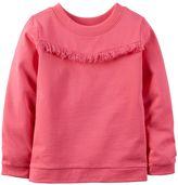 Carter's Toddler Girl Fringe Long Sleeve Top